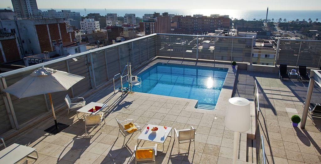 Concedetevi momenti di puro relax in piscina