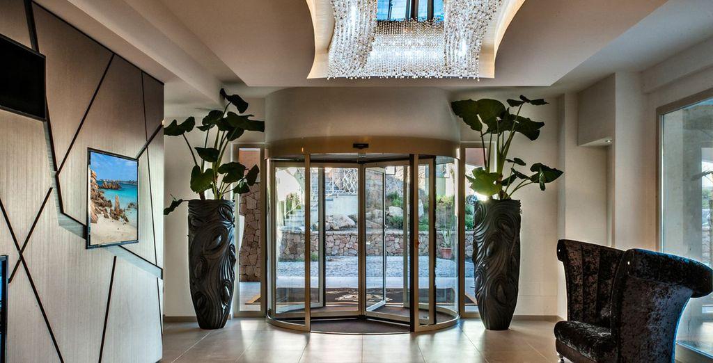 Il vostro hotel 5* Lusso è pronto a darvi il benvenuto