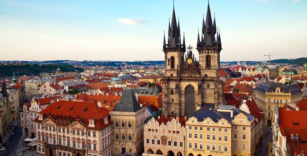 Il centro storico della città, patrimonio dell'umanità dell'UNESCO