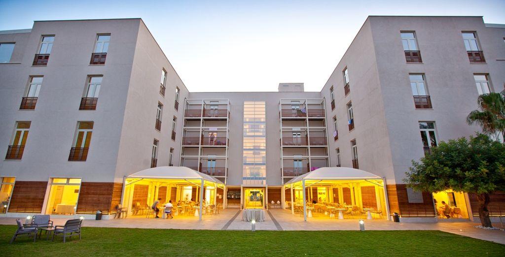 Moderno hotel ricavato da una struttura precedentemente adibita a colonia