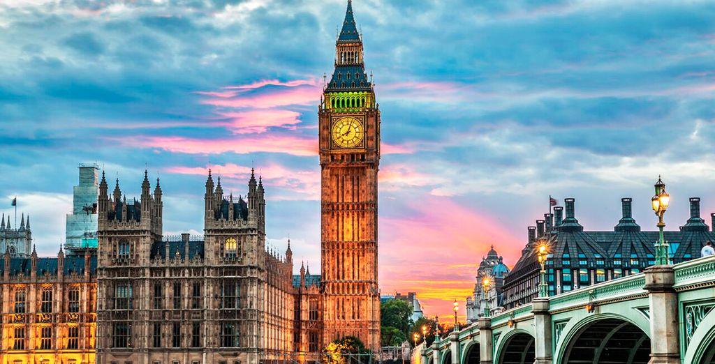 tra le bellezze della capitale inglese