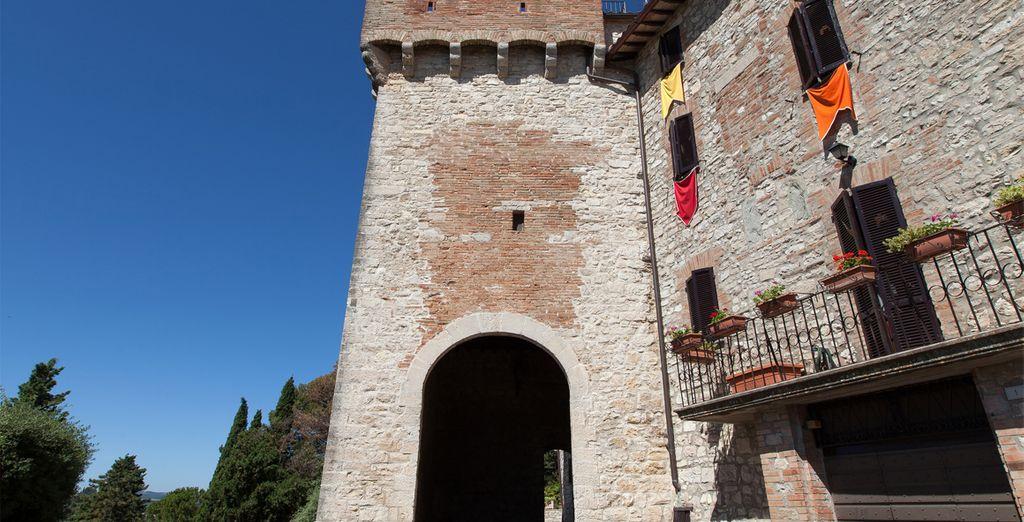 uno splendido castello medievale