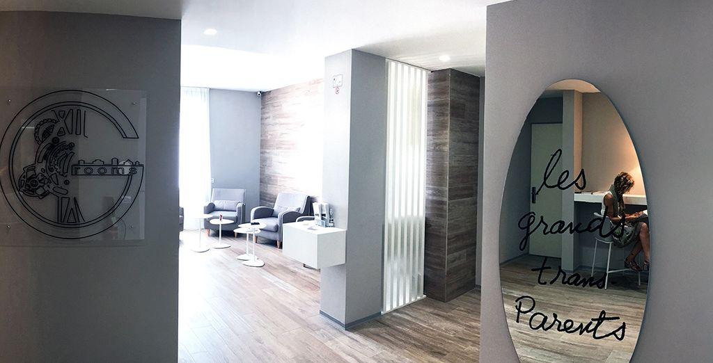 Ginevra Rooms è lieto di accogliervi nei suoi ambienti luminosi e curati nei dettagli