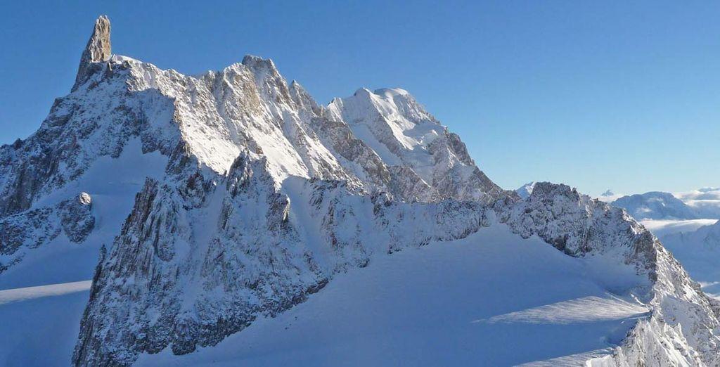 Oppure vi aspetta una bellissima gita sul Monte Bianco