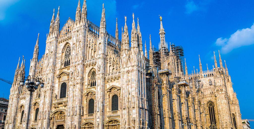 Scoprite il meglio di Milano, il famoso Duomo