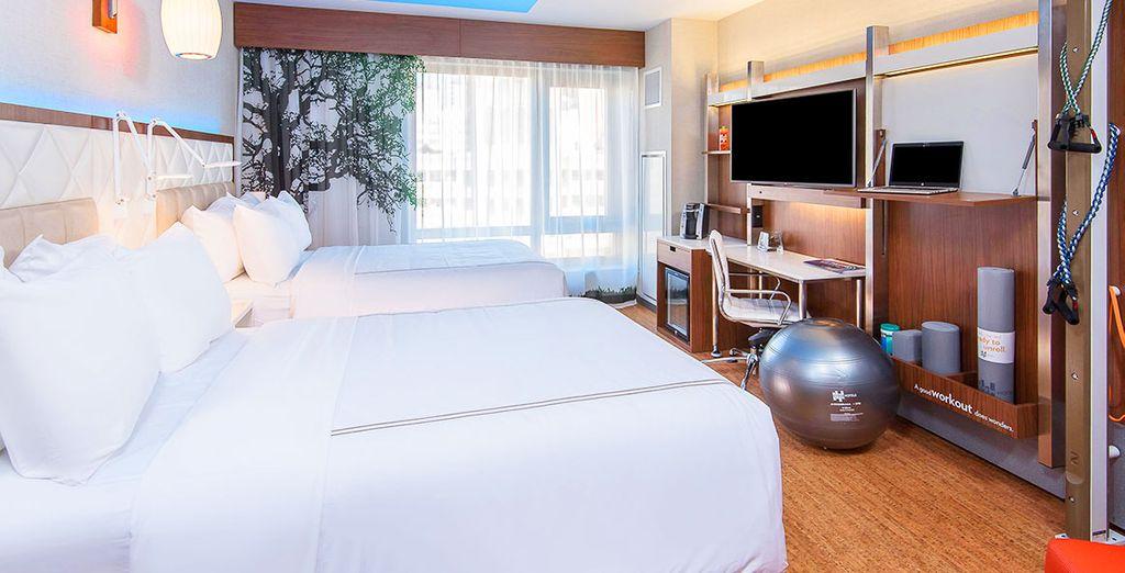 La vostra camera Wellness dove concedersi momenti di puro relax