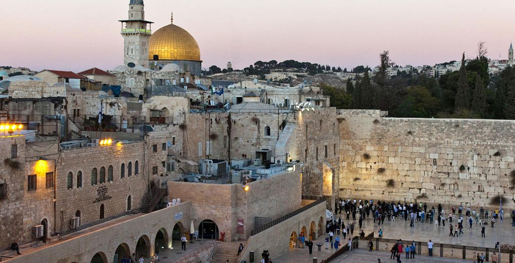 e della sacralità e delle meraviglie di Gerusalemme