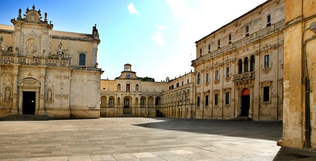 Partite per Lecce, tra barocco ed enogastronomia