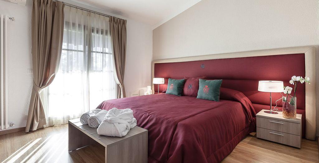 Le vostre confortevoli camere nel Lodge