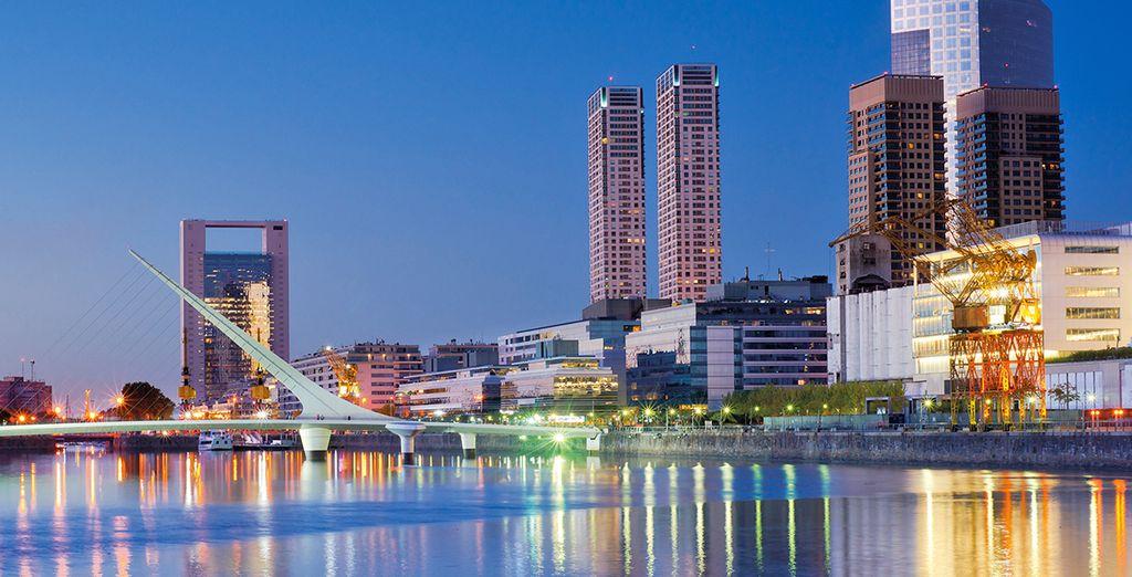 La moderna capitale e la maggior città dell'Argentina