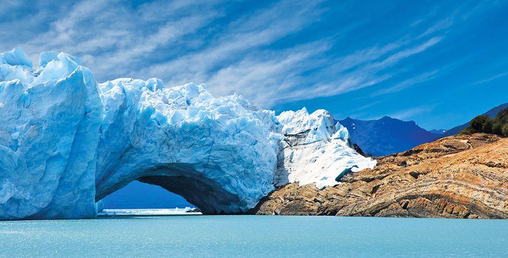 Tra cui spicca il maestoso Perito Moreno
