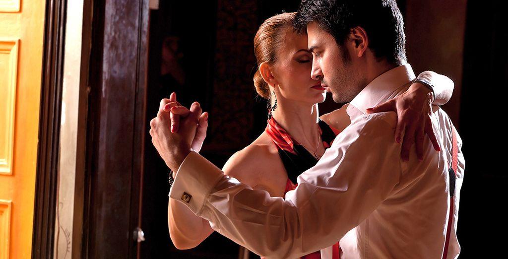 e dove apprezzerete una cena e spettacolo dove potrete conoscere il magnetismo del tango