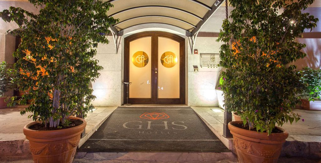 L'Hotel Vecchio Borgo 4* vi accoglie nel cuore della città