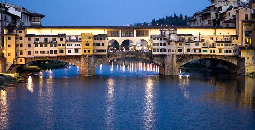 Impossibile non innamorarsi della vista sul Ponte Vecchio!