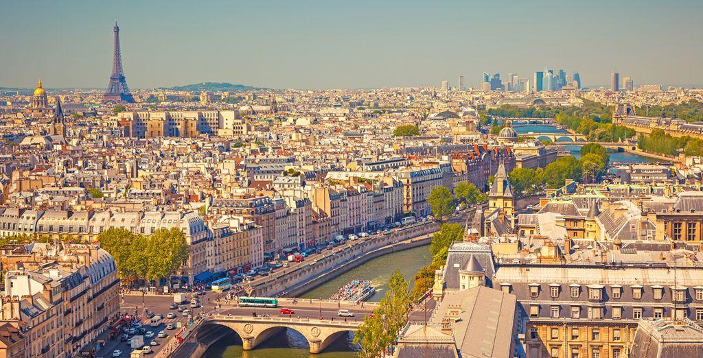 Parigi, grazie alle sue innumerevoli attrazioni vi lascerà a bocca aperta