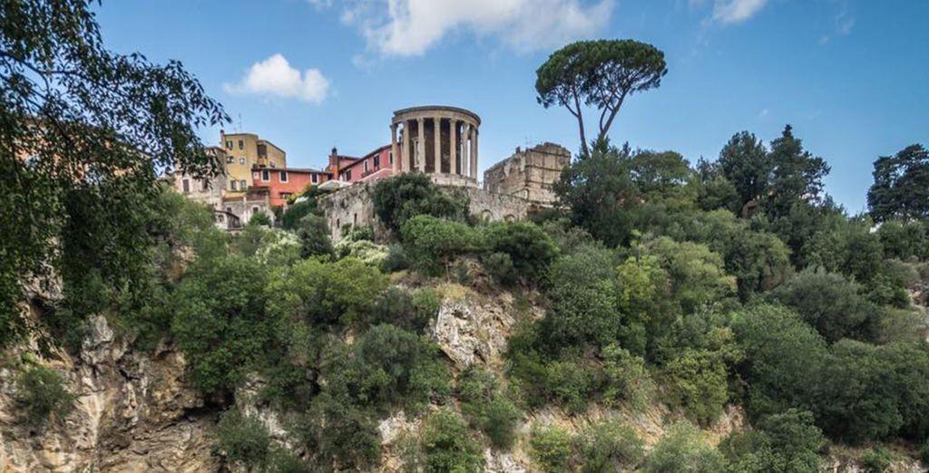 Villa Gregoriana e le altre Ville di Tivoli si trovano a breve distanza