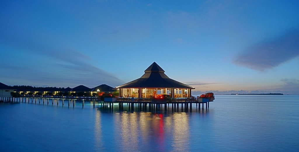 oppure presso lo splendido Sun Island Resort