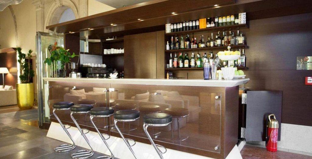 Lo snack bar vi accoglie per trascorrere piacevoli momenti di relax