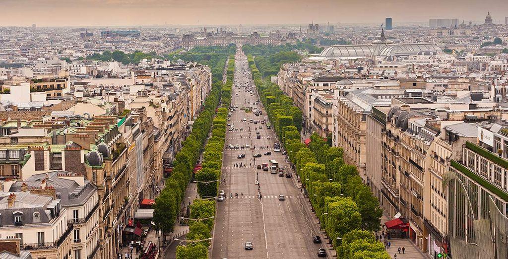 Parigi e le sue bellezze artistiche aspettano di essere scoperte