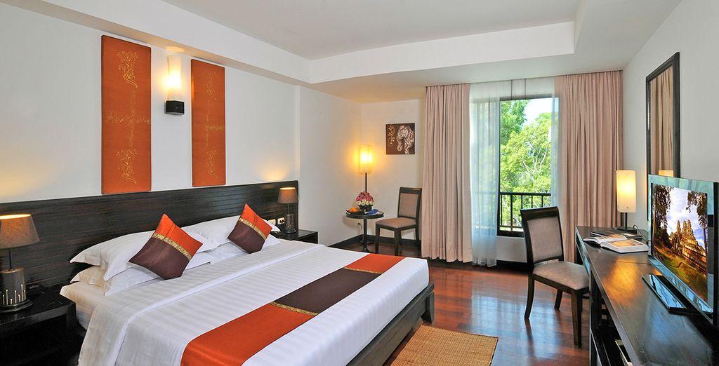In Cambogia soggiornerete presso il Tara Angkor Hotel a Siem Reap