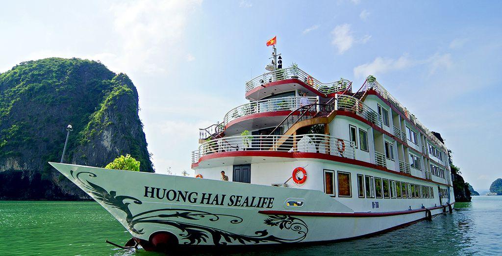 L'Huong Hai sealife vi regalerà una crociera all'insegna del lusso e del comfort