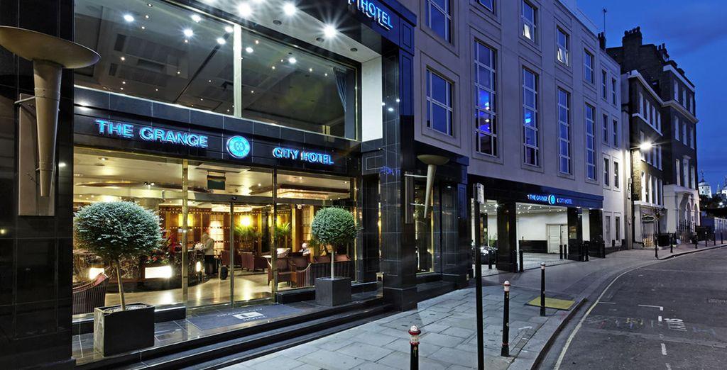 Il Grange City è un lussuoso e moderno hotel