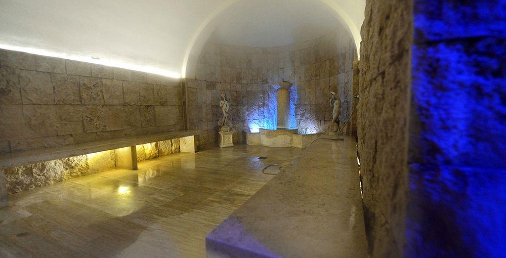 approfittate dell'accesso giornaliero al percorso termale etrusco