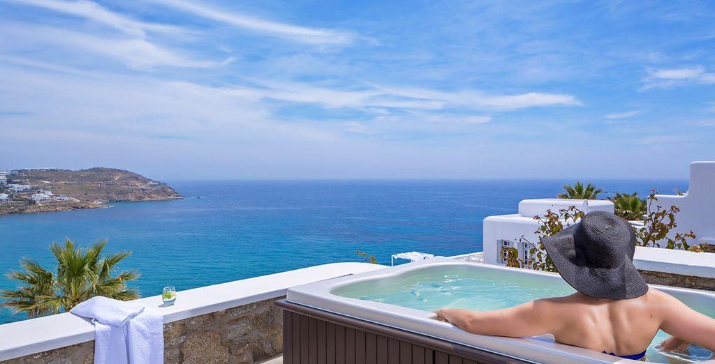 dove potrete rilassarvi comodamente al sole!