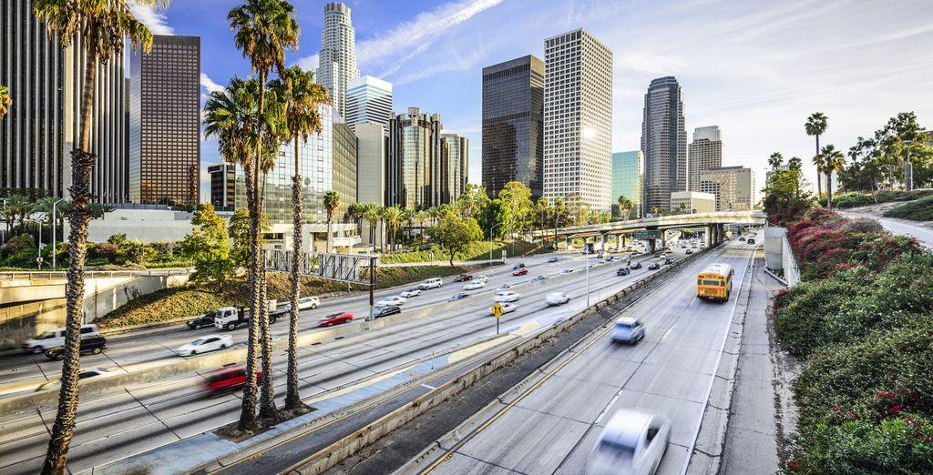Scoprite poi meravigliose città come Los Angeles