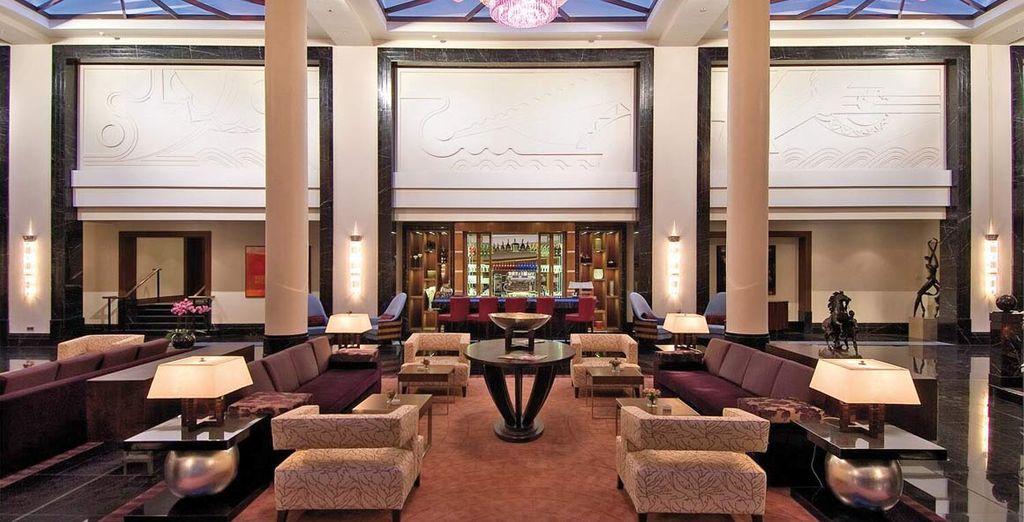 Entrate in un hotel 5* con un fascino unico