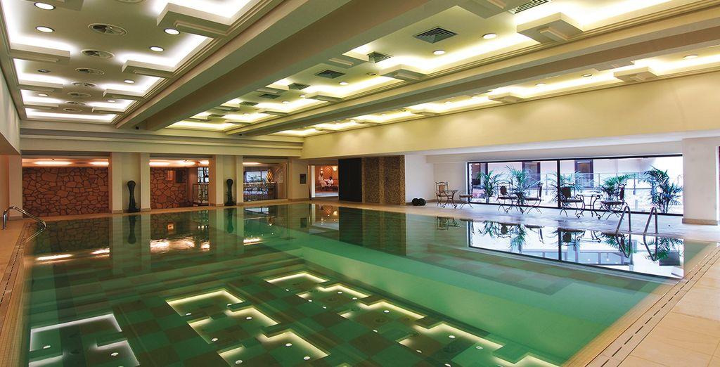 nella splendida piscina termale a vostra disposizione