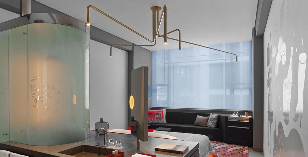Hotel di lusso ad Amsterdam, camera doppia con tutti i comfort vicino a tutte le attività