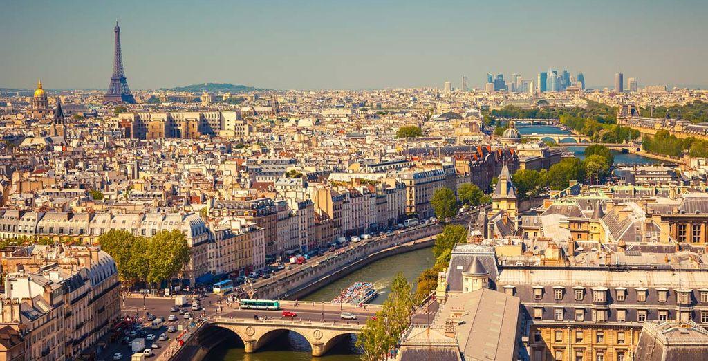 Parigi, la ville lumière, vi farà vivere una vacanza indimenticabile!