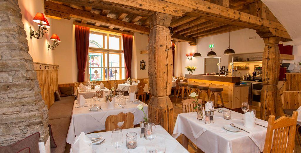 Accomodatevi al ristorante Gasthof