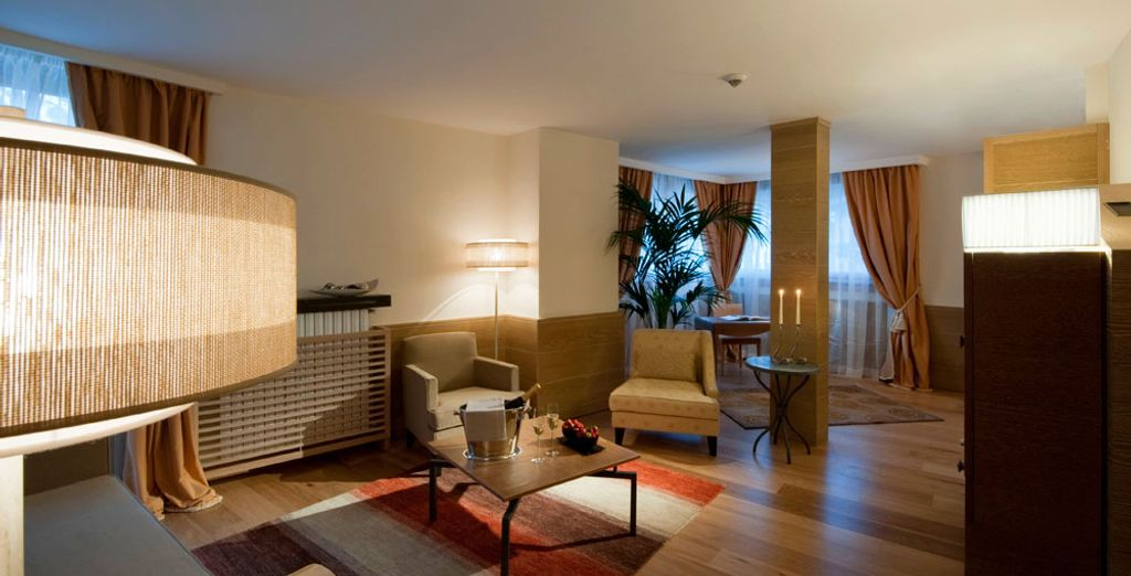 Concedetevi una spaziosa suite