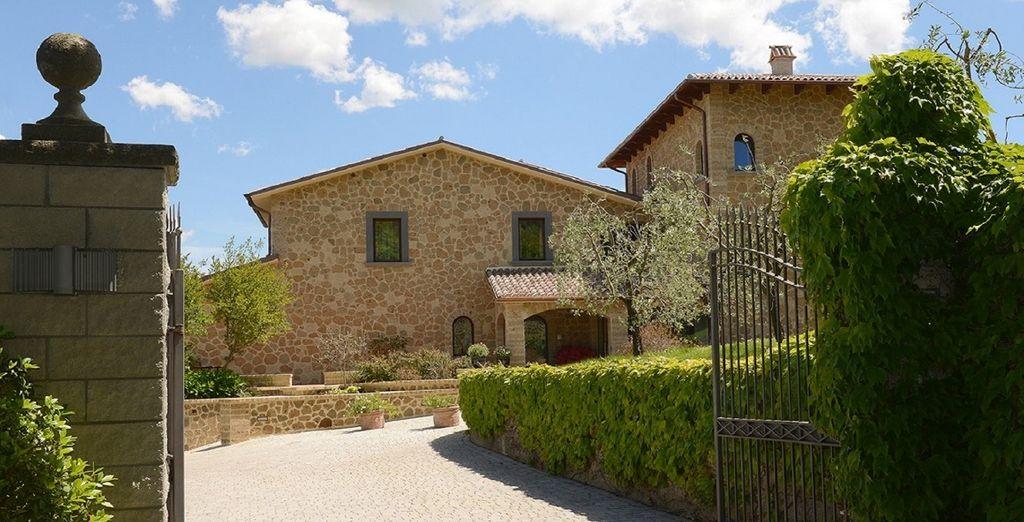 Benvenuti all'Altarocca Wine Resort