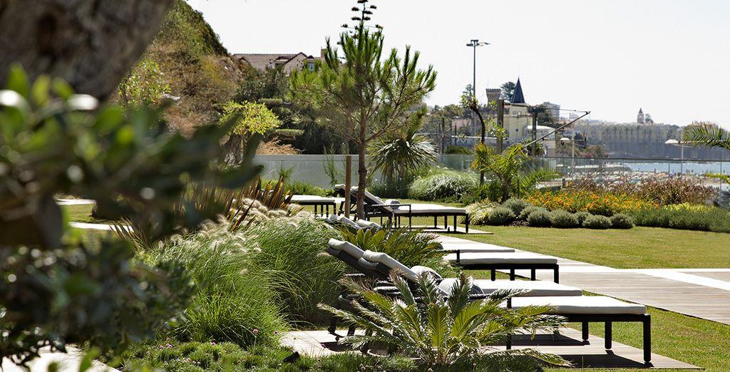 Splendidi giardini faranno da cornice al vostro soggiorno