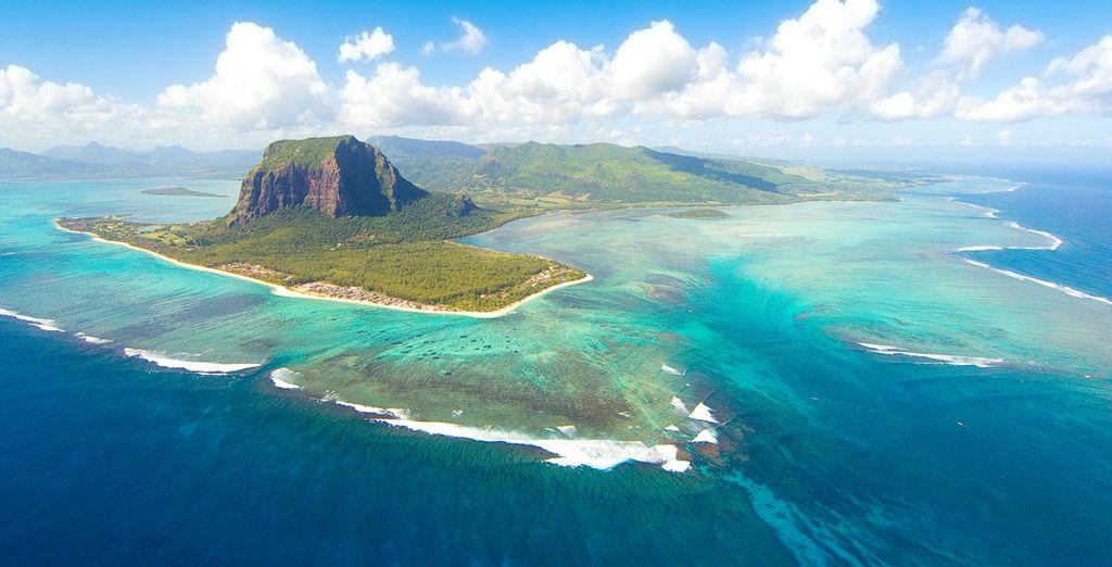 e lasciate che la bellezza naturale di Mauritius vi conquisti.