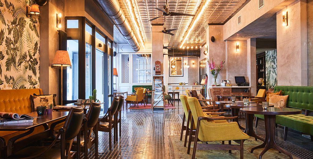 Il Max Brown Hotel Ku'damm vi accoglierà con le sue atmosfere urban chic