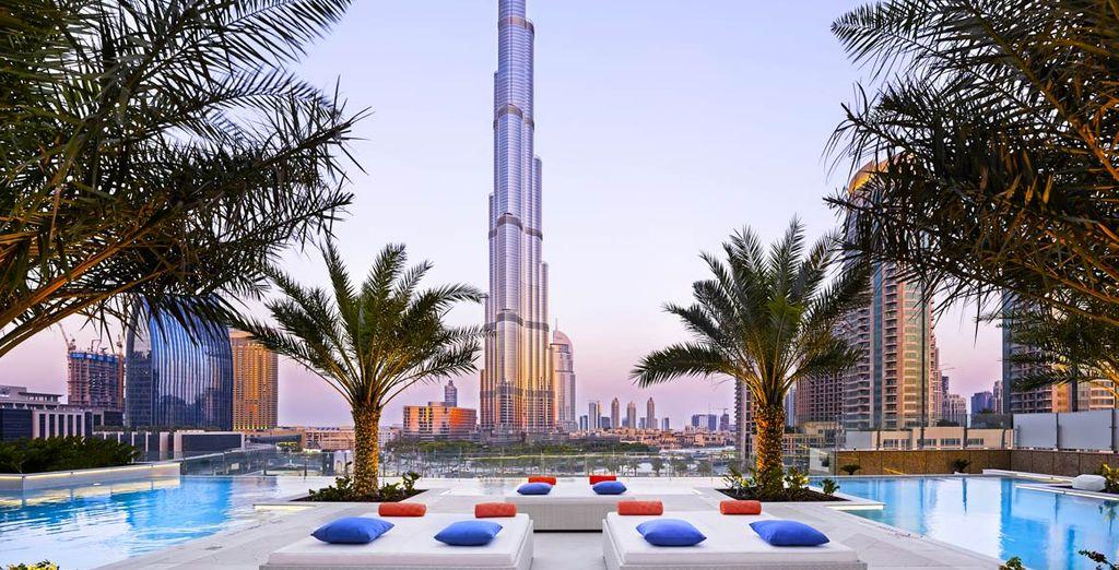 iL Sofitel Downtown Dubai 5* vi aspetta nella metropoli dei grattacieli