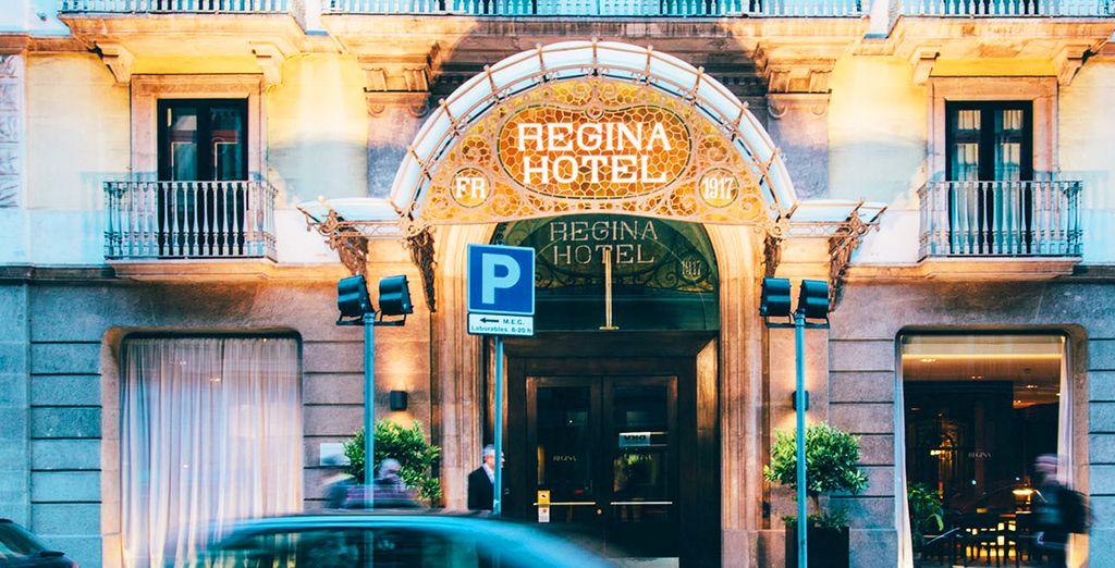 Per voi abbiamo un affascinante e caratteristico hotel 4*