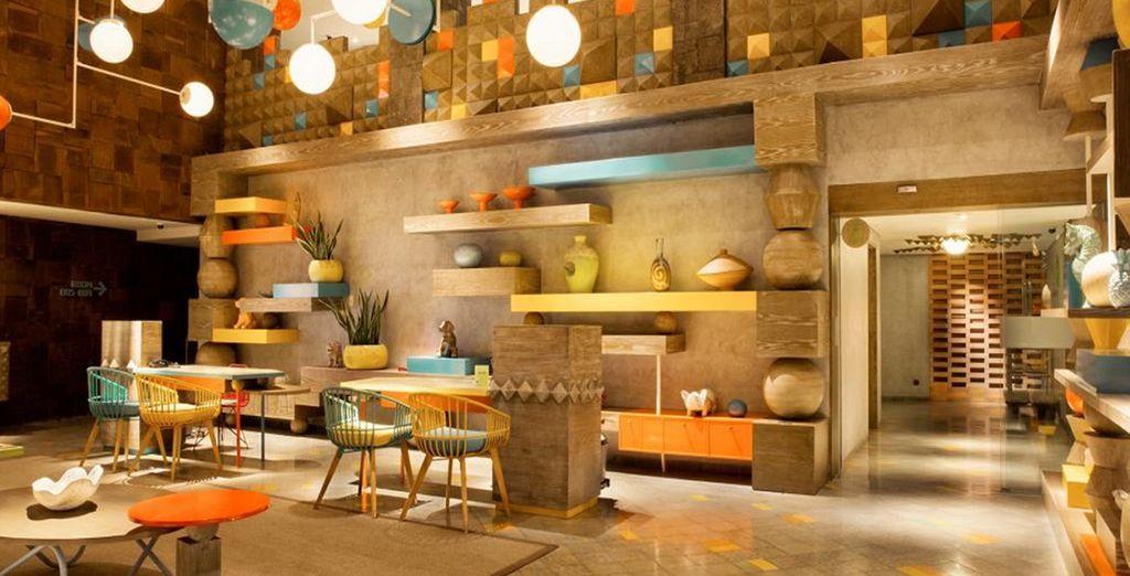 Arredato con elementi di design, questo hotel è perfetto per il vostro soggiorno a Bali