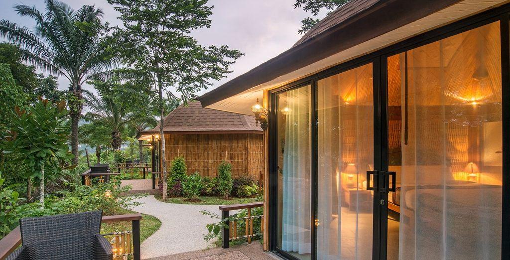 Ampi, luminosi e dallo stile tipico thailandese e dotati di terrazza privata