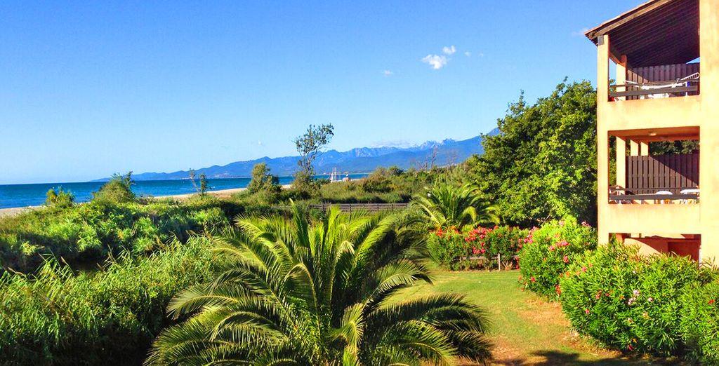 Residenza di charme con vista sul Mar Mediterraneo