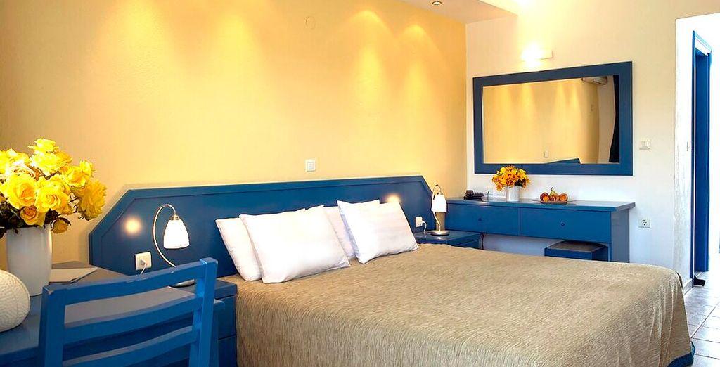 La vostra confortevole camera da letto