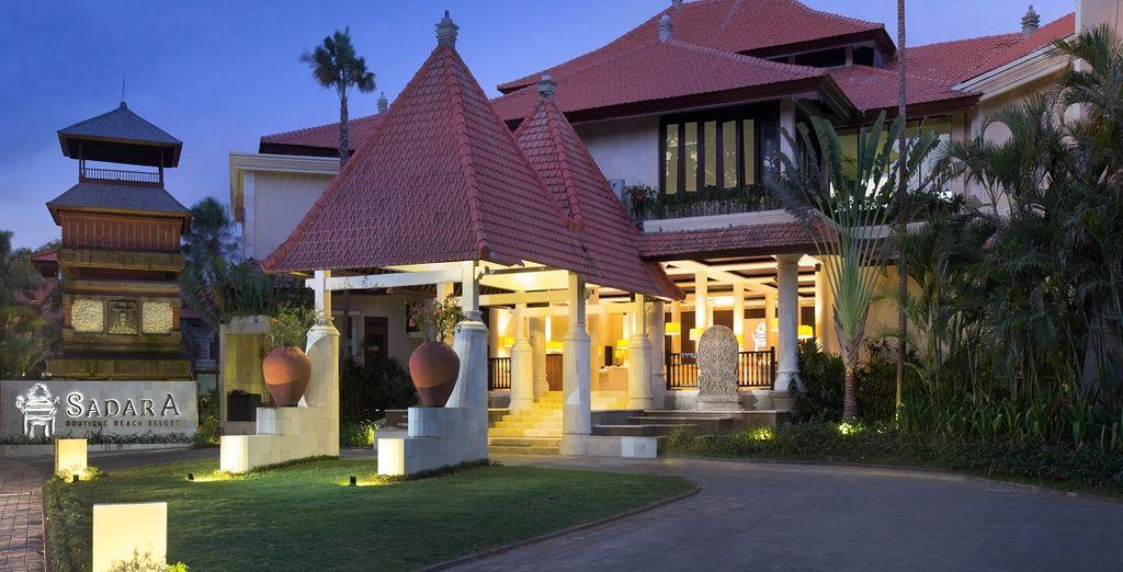 Qui soggiornerete presso il Sadara Boutique Beach Resort 4*