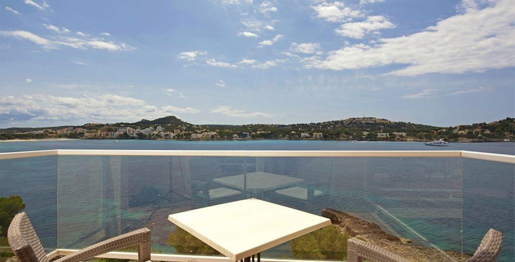 Con vista sullo splendido Mar Mediterraneo