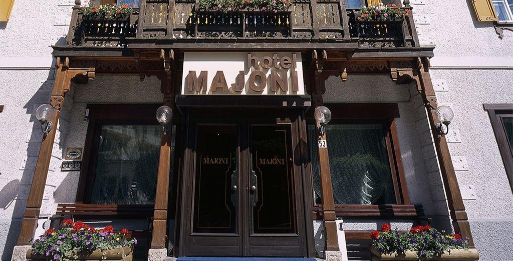 L'Hotel Majoni è pronto ad accogliervi