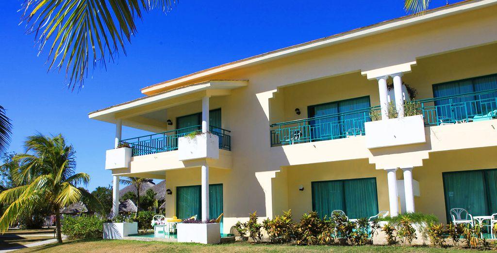 Il playa Costa Verde mantiene un'architettura in stile caraibico