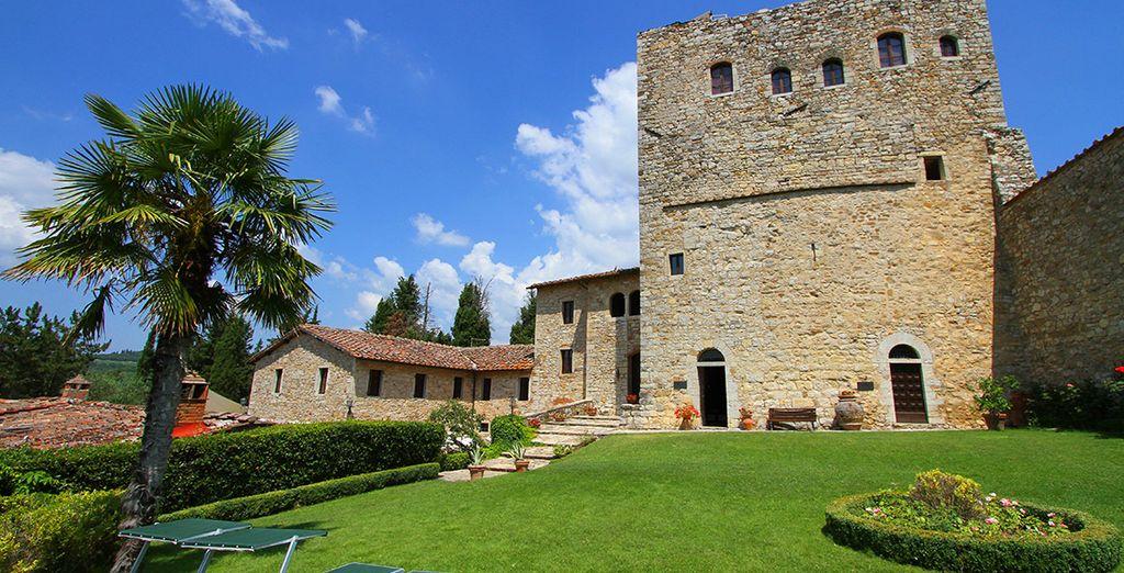 Benvenuti al Castello di Tornano